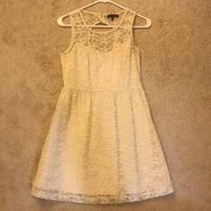 7775ad59fc33d Max and Riley White Lace Dress